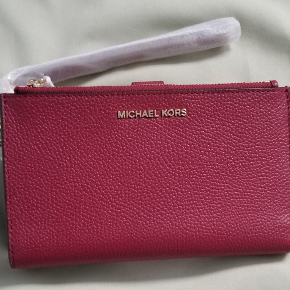 6df715bc564a Michael Kors Adele Leather Smartphone Wristlet